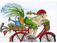 The Edinburgh Cycling Gardener