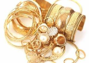 We Buy GOLD! Top Dollar for Your Used Jewellery
