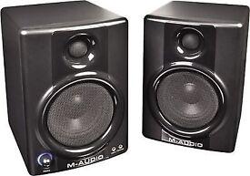 M-AUDIO STUDIO MONITOR SPEAKERS AV-40