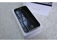 APPLE IPHONE 4 8GB MOBILE PHONE BLACK EE/T-MOBILE/ORANGE NETWORKS ONLY GRADE A (MAY DELIVER LOCALLY)