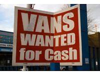 wanted cheap car or van ,