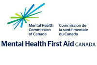 Mental Health First Aid training--Saint John, Moncton, F'ton