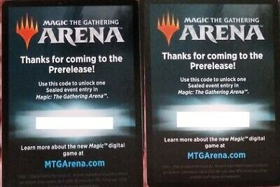 MTG Arena Code for sealed event Guilds of Ravnika prerelease Message delivery