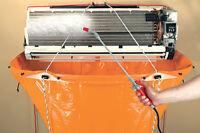 Nettoyage de climatiseur mural, Thermopompe , air climatisé
