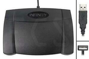 Infinity Transcription Foot Pedal - Brand New In The Box