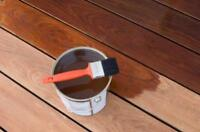 AVAILABLE TO STAIN/ PAINT FENCE, STEPS, DECK ETC.