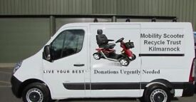 disposal of broken or working mobility scooters we will uplift