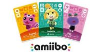 Amiibo Animal Crossing Cards For Sale and Trade