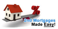 2nd MORTGAGE -- SECOND MORTGAGE -- ALL SITUATIONS APPROVED
