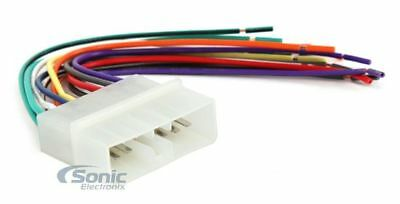 Scosche JE01B Wire Harness to Connect An Aftermarket Stereo