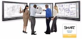 SMART Board 8084i-G4 interactive LED flat touch panel plus motorised stand - Bargain