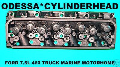 Ford Truck Motorhome Marine 7.5 460 Ohv V8 Carburetor Cylinder Head 75-85