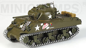 Sherman M4A3 D Day 1944 60th Anniversary 1:35 very rare Minichamps PMA - <span itemprop='availableAtOrFrom'>Margarethen am Moos, Österreich</span> - Sherman M4A3 D Day 1944 60th Anniversary 1:35 very rare Minichamps PMA - Margarethen am Moos, Österreich