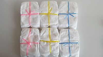 Nappies x4 to fit 16-18 inch dolls. Baby Born / Baby Annabell / Chou Chou