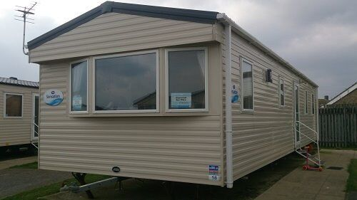 Caravan holiday at Camber Sands - Whitsun week - 3 bed Gold Plus - passes incl