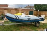 4metre inflatable rib boat