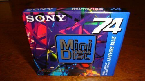 Sony Recordable MD Mini Disc - 74 Minutes - (set of 7)