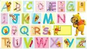 Large Alphabet Stickers