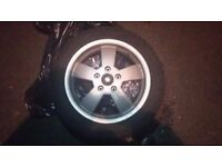 Vespa front wheel and tyre (120/70 r12)