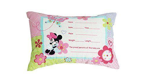 Disney Minnie Mouse Decorative Keepsake Pillow - Simply Adorable Personalize