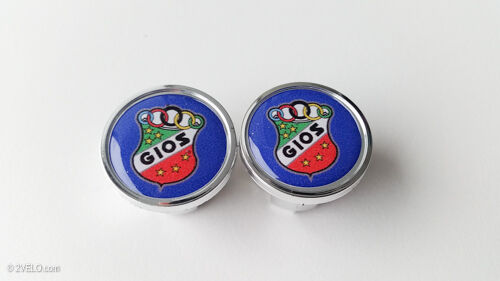 Vintage style GIOS Handlebar End Plugs