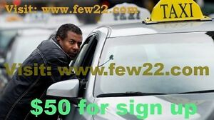Driving job. $50 Free for sign up