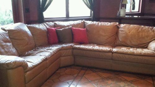 Leather Sofa Bed | Ebay