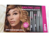 2 x packs DELANY AMAZING LASH MASCARA VOLUME EYES MAKE UP, BNIB, Christmas gift, stocking filler