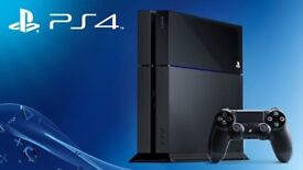 Ps4 1tb boxed with 10 games