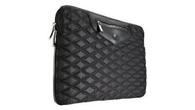 "Knomo  London 13"" Notebook Laptop Case Sleeve  Bag Organizer 18-506 black NWT"
