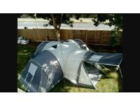 12 MAN TENT 3 BEDROOM PODS & CENTRE LIVING AREA 2 DOOR OPENING PODS CAN BE REMOVED FOR EXTRA SPACE