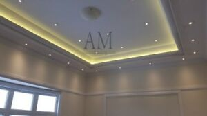 Crown Moulding, Wainscoting, Coffered Ceiling
