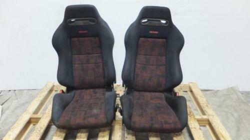evolution recaro seats ebay. Black Bedroom Furniture Sets. Home Design Ideas