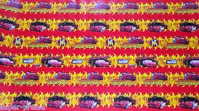 ier  - Original Walt Disney -  Cars  - 200 x 70 cm - NEU (Disney Cars Geschenkpapier)