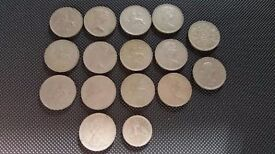 Collection of OLD 10p Coins