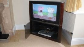 "Philips 32"" TV & Integral Stand"