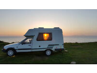 Campervan Hire - Tour Scotland at your pace. 2 berth campervan hire