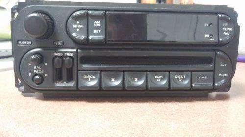 Dodge Stratus Radio Parts Amp Accessories Ebay