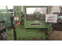 HURTH SPLINE MILLING MACHINE MODEL KF32A MK11