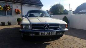 1983 Mercedes 280 SL convertible For Sale