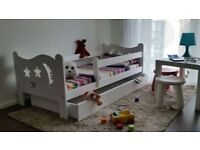 Kids Toddler Bed in white colour FREE DELIVERY