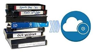 Video Tape Transfer Service (VHS, MiniDV) TO CLOUD STORAGE