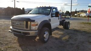 2008 FORD F-550 REGULAR CAB 4WD DRW