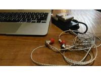 Portable Amp + aptX Receiver + Hybrid Earphones