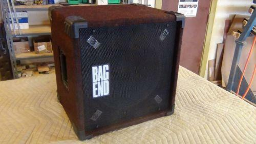 Bag End Speaker Ebay