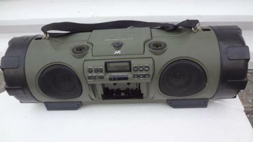 jvc kaboom portable stereos boomboxes ebay. Black Bedroom Furniture Sets. Home Design Ideas