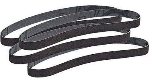 """Precision Abrasives Sanding Belts: 1/2"""" x 13"""", 60g.  Aluminum Oxide (10ea)"""