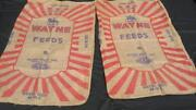 Vintage Burlap Feed Sacks
