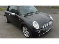 MINI COOPER CONVERTIBLE 2 DOOR MANUAL PETROL 56 PLATE