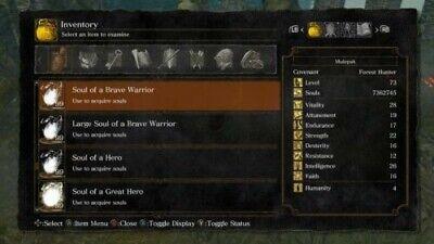 Dark Souls Remastered | 24 MILLION SOULS / BOSS SOULS | Xbox One Only SL:218+ comprar usado  Enviando para Brazil